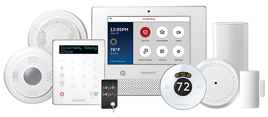 Lyric control system from Honeywell Alarm Systems.