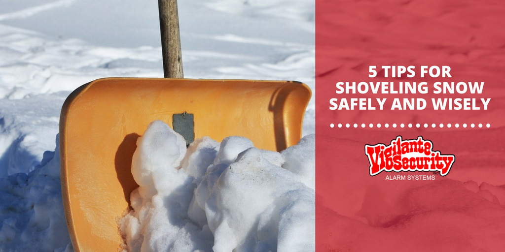 5 Tips for Shoveling Snow Safely and Wisely